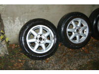 VW Polo/Caddy Alloy Wheels 4x100 (similar pictured)