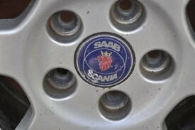 Saab Alloys in good condition
