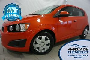 2012 Chevrolet Sonic LT*HATCH*AUTOMATIQUE*BLUETOOTH*