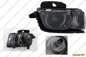 Head Lamp Passenger Side HID [2010-2013 All With HID] [2014-2015 Zl1 With HID] High Quality Chevrolet Camaro