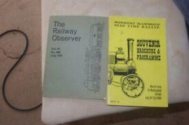 2 x souvenir booklets
