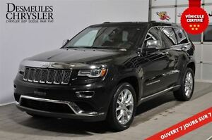 2014 Jeep Grand Cherokee SUMMIT**TOIT PANO**SUSP. PNEUMATIQUE
