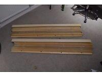 Real Wood! Venetian Blinds Large Slats