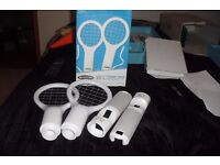 NINTENDO WII TENNIS PACK INCLUDES PACK OF 2 TENNIS BATS IN ORIGINAL BOX