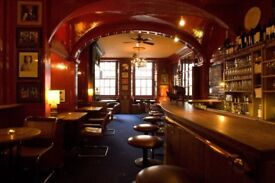 Full and Part time bar and floor staff required for busy Soho Private Members club