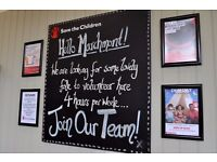 Volunteer with Save the Children! Marchmont Road Shop.