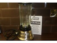 Stainless steel Waring blender