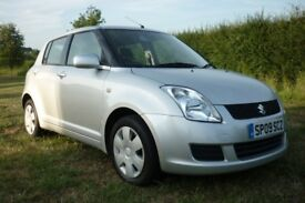 Suzuki Swift / 5 Doors / Silver / Low Mileage / Long MOT / Low Insurance group / 2 Remote Keys