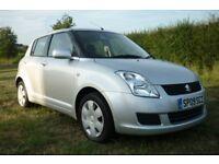 Suzuki Swift / 5 Doors / Silver / Low Mileage / Long MOT / Low Insurance group / 2 Remote Keys
