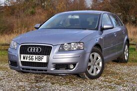 2006 (56) Audi A3 2.0 TDI SE Sportback 5dr Hatchback