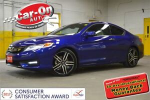2017 Honda Accord Touring V6 LEATHER SUNROOF NAV LOADED ONLY 520