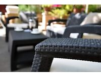 Get your garden with Keter-Rattan Sofa