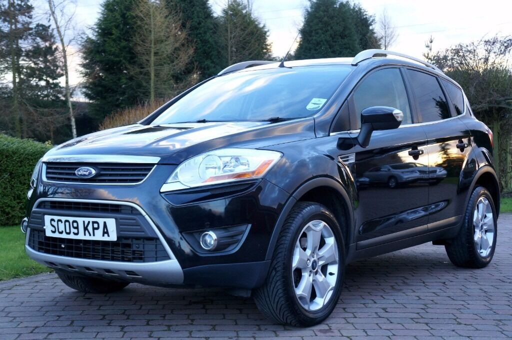 ford kuga 4x4 suv diesel zetec tdci 2009 awd fsh new tow bar stunning private sale in. Black Bedroom Furniture Sets. Home Design Ideas