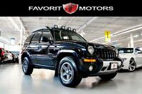2004 Jeep Liberty Renegade 4X4 TRAIL RATED | LEATHER | MOONROOF