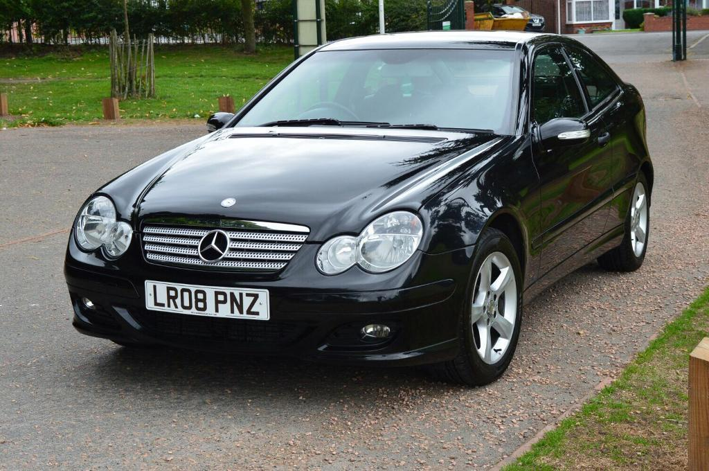 2008 08 mercedes benz c class c180 sports coupe se kompressor in solihull west midlands gumtree. Black Bedroom Furniture Sets. Home Design Ideas