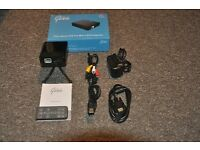 Pico Genie P50 Pro Mini LED Projector, 40 Lumens, HDMI, VGA, USB, MICRO SD Connections.