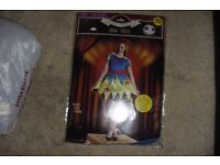 """NEW """"HALLOWEEN OUTFIT"""" SNOW FRIGHT SIZE 8-10 NEVER BEEN WORN COST £10"""