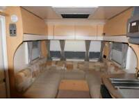 2010 Bailey Pegasus 624 Twin Axle 4 Berth Fixed Bed End Bathroom,VGC, ALU BODY,NO DAMP