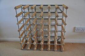 Wine Rack - Rta From Samuel Groves 42-Bottle / Galvanised Steel Kit