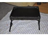 Fishing Bait Table fold down adjustable legs (Selling all fishing equipment)