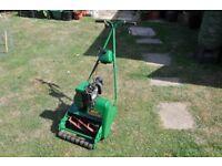 Suffolk Punch petrol lawn mower
