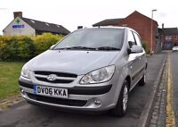 HYUNDAI GETZ 1.1 CDX 5DR PETROL (PART SERVICE HISTORY, 1 OWNER)
