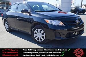 2013 Toyota Corolla CE, Cruise Control, Bluetooth, One Owner !!