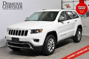 2016 Jeep Grand Cherokee LIMITED**CUIR**NAVI**4X4