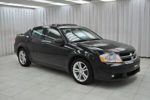 2013 Dodge Avenger SXT SEDAN w/ BLUETOOTH, A/C, HEATED SEATS, CL