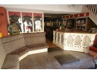 Fully Equipped Restaurant Premises to let with 3 Bedroom Flat