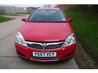 2008 Diesel Vauxhall Astra Estate 1.7cdti Verified 61000 miles. Cheap Road Tax. Excellent MPG