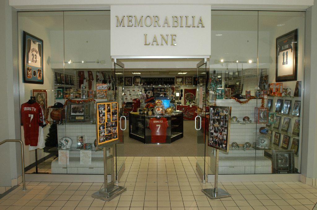 Memorabilia Lane & Promotions