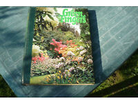 1970's gardening magazines in 10 hard backed volumes full of gardening tips and information.