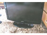 """26"""" LCD television for sale."""