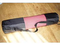 Brand New Yoga Mat - Non Slip with Carry Case
