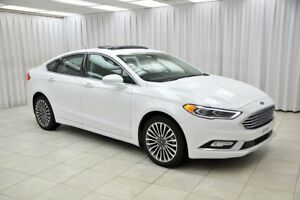 2017 Ford Fusion SE ECOBOOST AWD SEDAN w/ HEATED LEATHER SEATS,