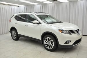 2015 Nissan Rogue 2.5SL AWD PURE DRIVE SUV w/ HTD LEATHER, NAV,