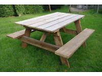 5 Ft Garden Picnic Table