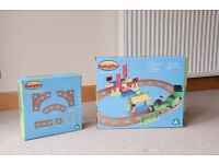 Happyland Country Train Set and Extra Track Set - with boxes. Excellent Condition