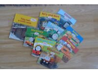 Thomas & Friends - set of 9 books from Thomas the Tank Engine series