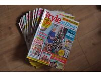 Style at Home 12 issues year 2016