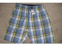 """NEW WITH TAGS """"BHS"""" MEN'S LOUNGE SHORTS NEVER BEEN WORN SIZE SMALL 30""""/33"""""""