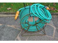 Metal hose and reel