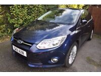 Ford Focus 1.6 SCTi EcoBoost Titanium X 5dr with Active Parking Assist. Superb condition.