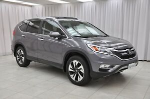 2015 Honda CR-V EX-L TOURING AWD SUV w/ LEATHER, NAV, BACK-UP &