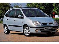 2000 Renault Scenic 1.6 16v Sport Alize 5dr+MPV+LONG MOT+FULL SERVICE HISTORY+READY TO DRIVE AWAY