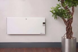 Futura Eco 1000W Deluxe Electric Panel Heater Radiator, Wall Mounted - Thermostat & Digital Timer