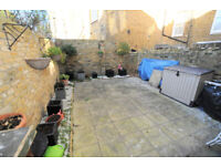 A one double bedroom, private garden flat in the heart of Brackenbury Village.