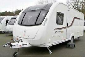 2016 Swift Expression 4 berth caravan