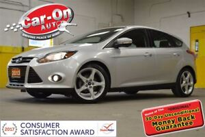 2013 Ford Focus Titanium LEATHER NAV FULL PWR GRP ALLOYS SYNC